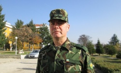 Поздравления за бригаден генерал Пламен Йорданов, командир на 61 Стрямска механизирана бригада