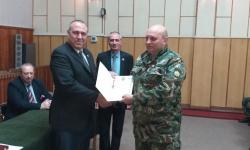 Наградиха военнослужещи от 55-ти инженерен полк в Белене