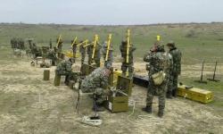 """Формирования за ПВО на Сухопътни войски демонстрират умения на учебен полигон """"Корен"""""""