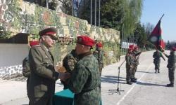 Курсисти от Единен център за начална подготовка положиха военна клетва