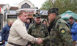 Около 300 военнослужещи от Благоевград са готови да отидат на българо-гръцката граница