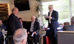 Президентът поздрави полк. проф. Павел Пенев