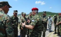 """""""Боеготов"""" за българския контингент за участие в многонационалната бойна група на ЕС HELBROC"""