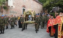 Военнослужещи от гарнизон Пловдив участваха в литийно шествие.