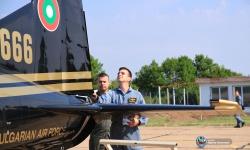 Първокурсниците - летци положиха семестриален изпит