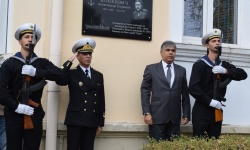 Откриха паметна плоча на първия командващ Българския военен флот