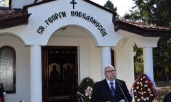 Patria направи дарение за Мемориалния комплекс в Горни Дъбник