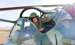За първи път жена стреля с Ми-24