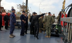 """""""Шквал"""" изпълнява задачи във Втората постоянна противоминна група кораби на НАТО"""
