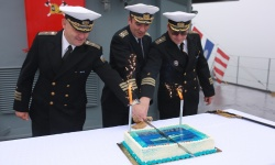 """14 години от приемането на фрегата """"Дръзки"""" във ВМС"""