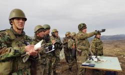 "Приключи батальонното тактическото учение ""Вратица 2019"""