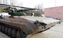 Успешни изпитанията на модернизирана бойна машина на пехотата
