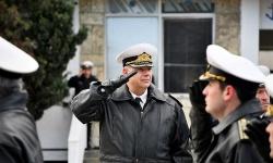 ВМС откриха учебната година със строй и показни занятия