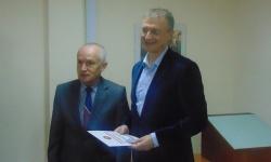 """Изпълнителният директор на """"Транспортно строителство и възстановяване"""" стана почетен член на СОСЗР"""