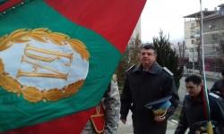 """Осветиха бойното знаме на ВВВУ """"Георги Бенковски"""""""
