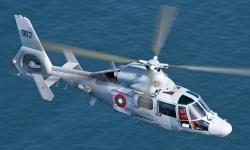 Вертолет на ВМС транспортира родилка в тежко състояние