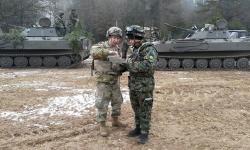 Военнослужещи от Центъра в Плевен участваха в учение, като част от американски батальон
