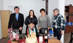 Ветеран от войната от с. Велчево, Община Априлци, празнува 100-годишен юбилей