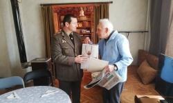"""Ветеран от войната, треньор на футболен клуб """"Волов"""", отпразнува  98-и рожден ден"""