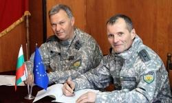 Майор Свилен Славчев прие командването на дивизиона в Кичево
