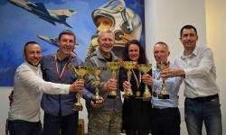 Скиорите на ВВС са най-добрите, след тях са отборите на Сухопътни войски и СКСО