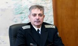 Военните моряци от СОСЗР поздравяват адмирал Емил Ефтимов