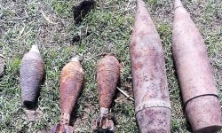 Военнослужещи от Сухопътните войски разузнаха и унищожиха невзривени боеприпаси