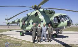 Ми-17 се върна в 24-та авиобаза