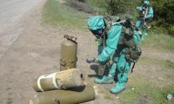 Отработват задачи по ядрена, химическа и биологическа защита