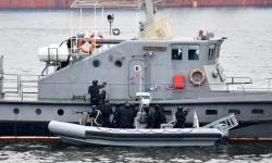 Военноморските сили отбелязаха празника с демонстрация на командоси