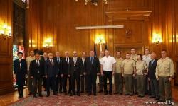 Наградиха военнослужещи и цивилни служители за Деня на българската писменост и култура
