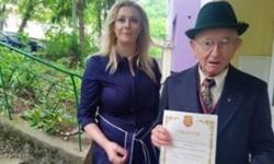 Ветерани от Велико Търново получиха юбилейни медали