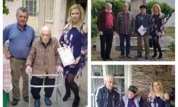 Ветерани от Великотърновска област получиха юбилейни медали