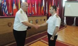 Наградиха военнослужещи и цивилни служители от ВМС