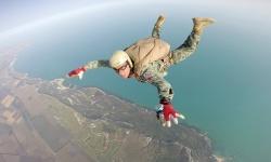 Морският специален разузнавателен отряд проведе парашутна подготовка