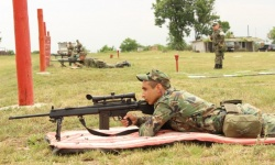 Снайпeристите от Сухопътни войски се подготвят за изпити