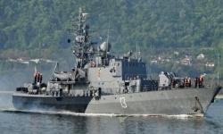 Корвета и вертолет на ВМС участваха в съвместно учение в западната част на Черно море