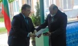 Полк. Борис Николов с юбилей и отличиe от министъра на отбраната