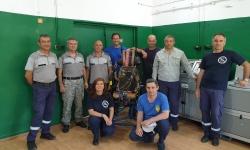 Военновъздушната учебна база вече с лаборатория за обслужване на катапултните седалки