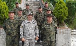Работна среща с главните сержанти в 101-ви алпийски полк – Смолян