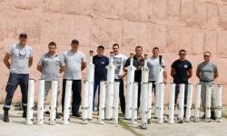 Успешно изпитване на барутни ракетни двигатели за авиационни управляеми ракети