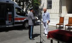 Нов реанимобил за безопасността и здравето на военнослужещите от Специалните сили.