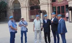 Сините каски подкрепят върховния главнокомандващ ген. Румен Радев