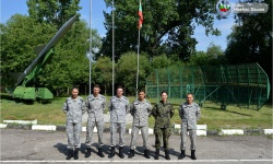 """Лейтенанти от випуск """"Добруджански"""" попълниха редиците на Първа зенитно-ракетна база"""