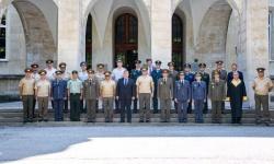 Осем български офицери завършиха за генерали