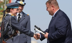 Завърши випускът на Военновъздушното училище