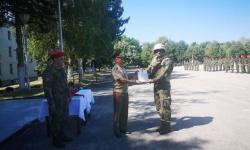 Наградиха военнослужещи, които участваха в мисия в Афганистан