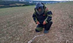 Военнослужещи от Сухопътните войски обезвредиха боеприпаса, открит до телевизионната кула в Плевен