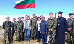 Поклон пред българските воини, загинали на Каймакчалан