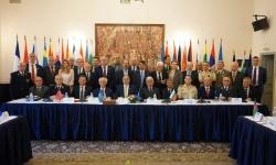 На снимката: Членове на конфедерацията по време на форум в ЦВК, София, през май 2019 г.